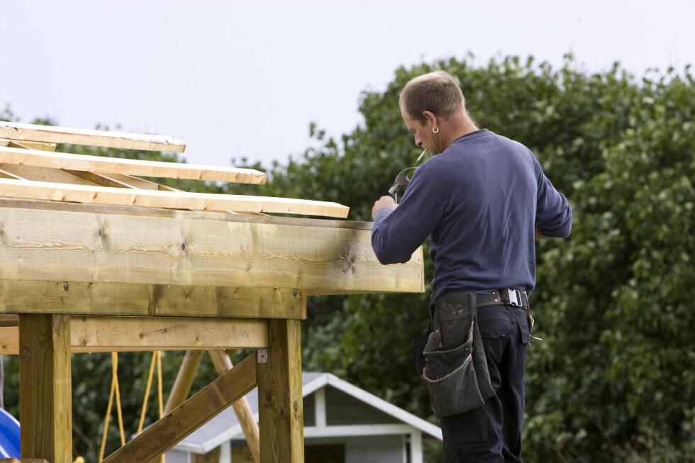 Planlegger du å bygge nytt, bygge på, eller pusse opp, bør du gjøre det nå.  Foto: Colourbox.com