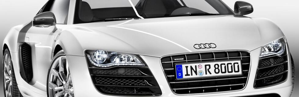 Audi topper R8 med V10
