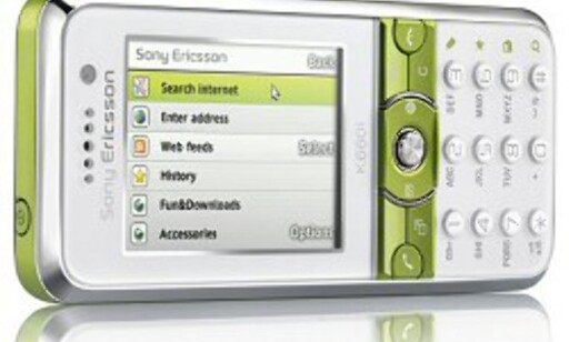 Sony Ericsson K660 - rimelig mobil med turbo-3G.