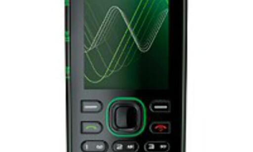 Nokia 5220 XpressMusic har en litt spesiell design.