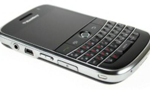 BlackBerry Bold. God, men ikke gratis.