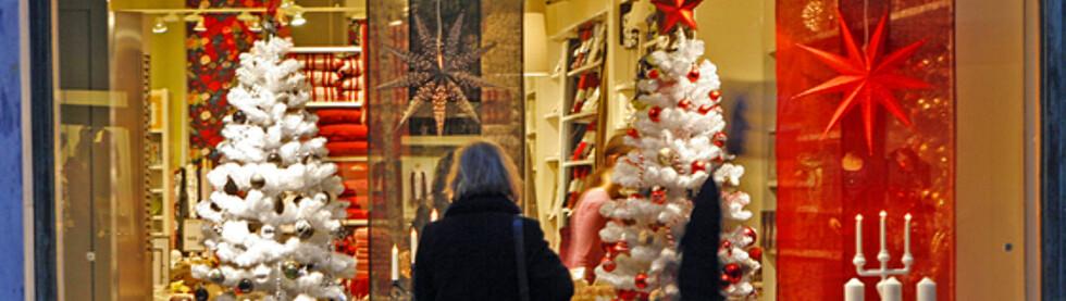 Et alternativ til stengte dører er å handle gavene på nettet. Foto: Per Ervland