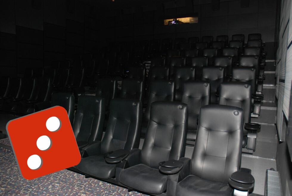 Luksuskinosalen til Oslo Kino oser ikke akkurat av luksus. Foto: Sigurd Moe Hetland