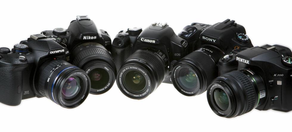 Lyst på nytt kamera? Nå er tiden for å kjøpe ett. Foto: Per Ervland