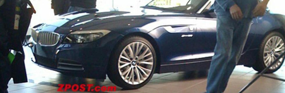 BMW Z4 avslørt