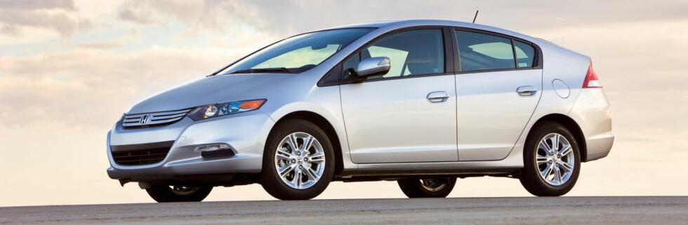 Honda Insight. Amerikansk produksjonsmodell.
