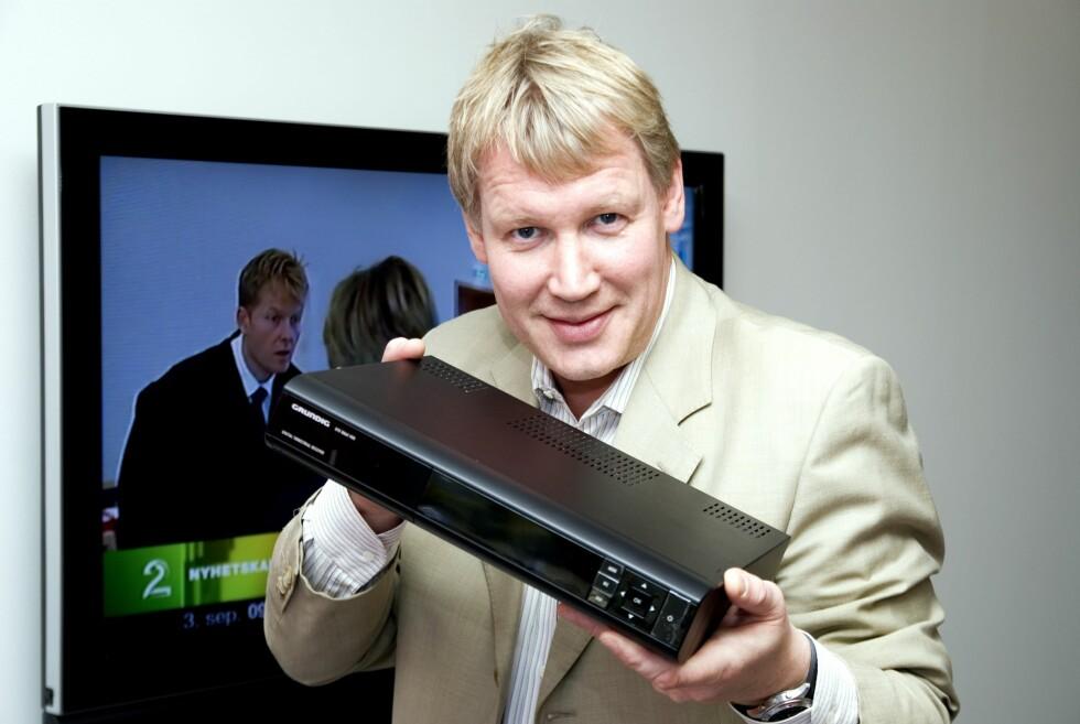 Svein Ove Søreide i RiksTV  Foto: RiksTV