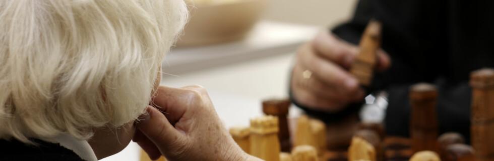 Forskere fra Tyskland mener de har funnet formelen til hvordan man kan få tilbake fargen i hvitt hår.  Foto: Colourbox