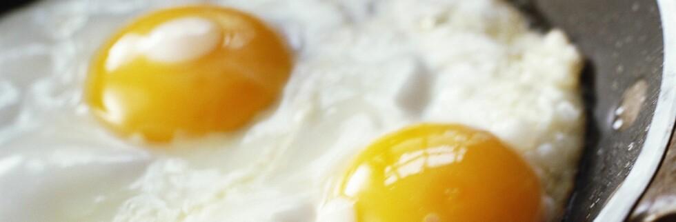 Å spise egg til frokost kan gjøre slankingen lettere, skal vi tro en ny studie.  Foto: Colourbox