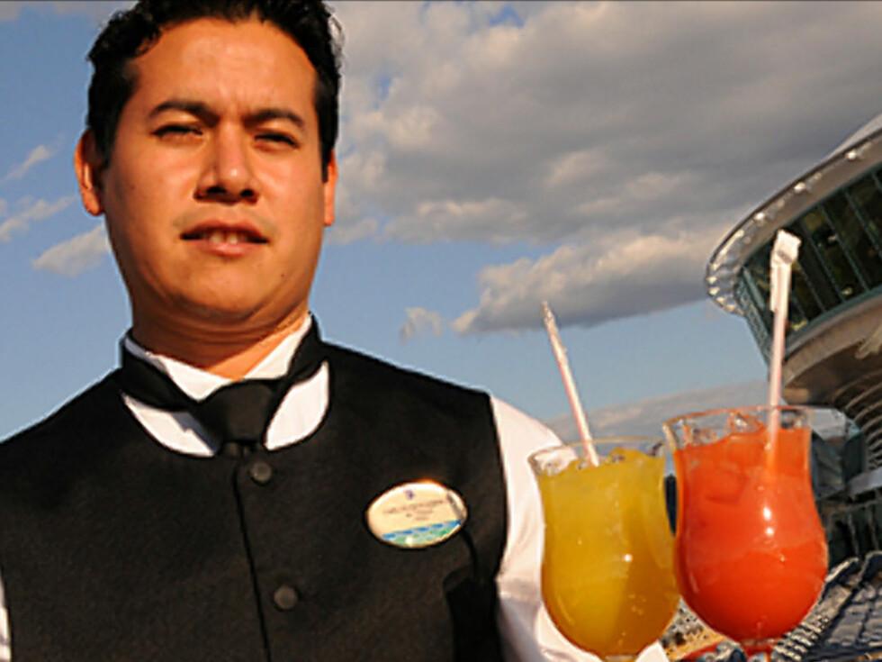 For ti kroner kan du ta med deg en gjest på MSC Cruises i 2009. Det er mange reisemål å velge mellom. Foto: Hans Kristian Krogh-Hanssen