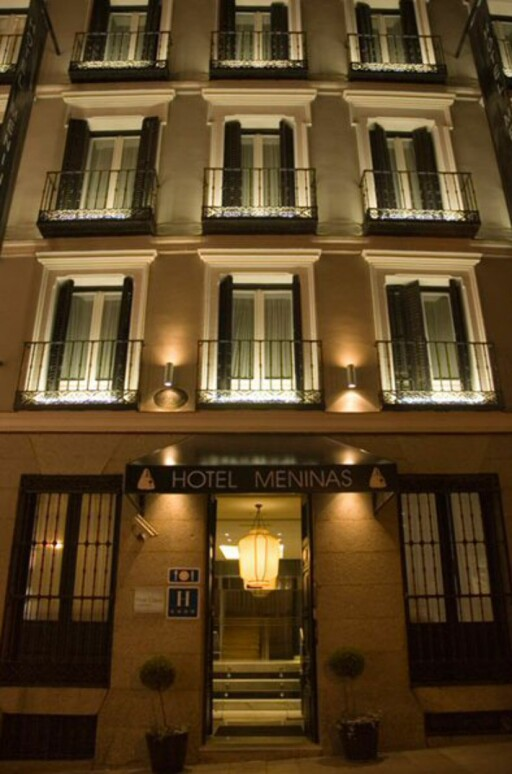Hotellet ligger i en vakker bygning fra 1800-tallet. Foto: Hotel Meninas