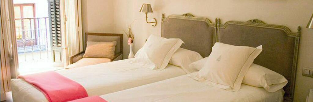 Boutiquehotellet midt i Madrids hjerte er et godt alternativ - hvis du får billigste pris. Foto: Hotel Meninas