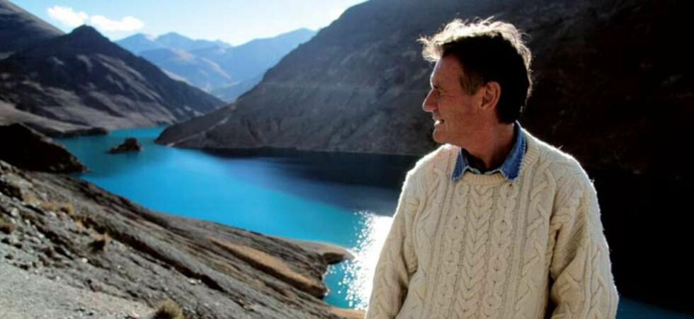 Michael Palins fantastiske reiseprogrammer vil bli sendt på BBC Knowledge. Foto: BBC