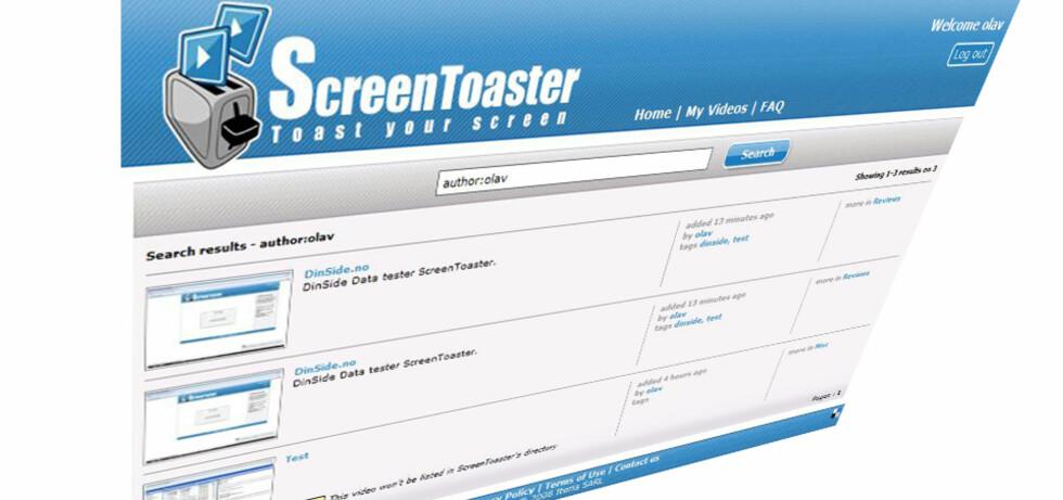ScreenToaster gjør det lettere å drive med blant annet datasupport.