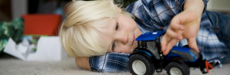 Mange nettbutikker satser på leker til barn. Foto: Colourbox.com