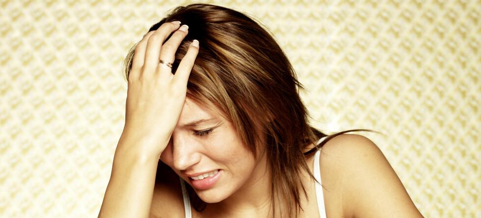 Om lag en halv million nordmenn er plaget av migrene.  Foto: colourbox.com
