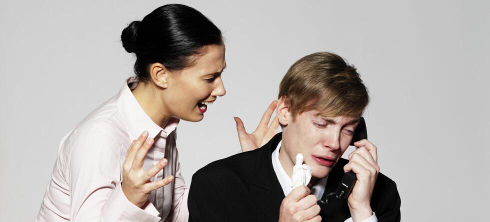 Dårlige sjefer øker faren for hjerteproblemer betydelig. Foto: Colourbox