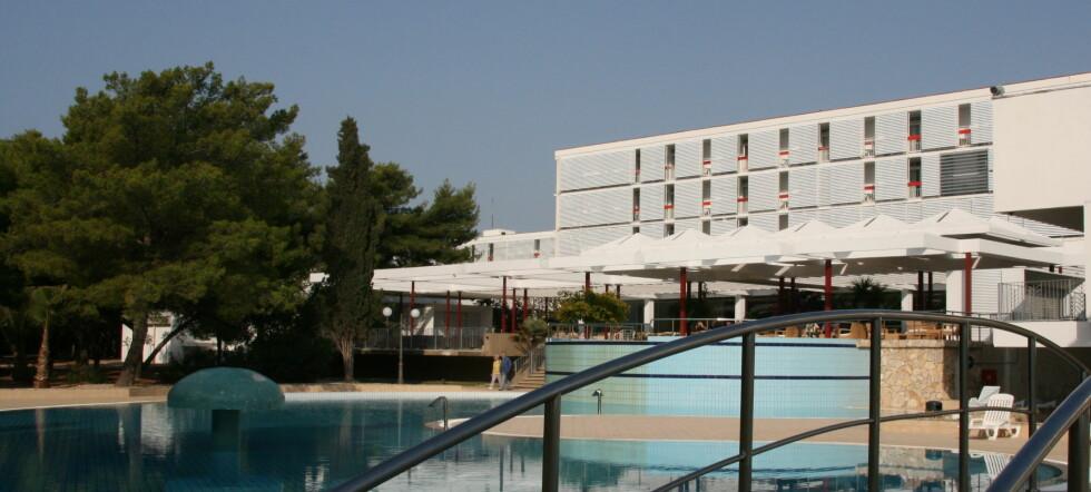 Hotell Ivan sett fra baksiden.  Foto: Astrid Mannion