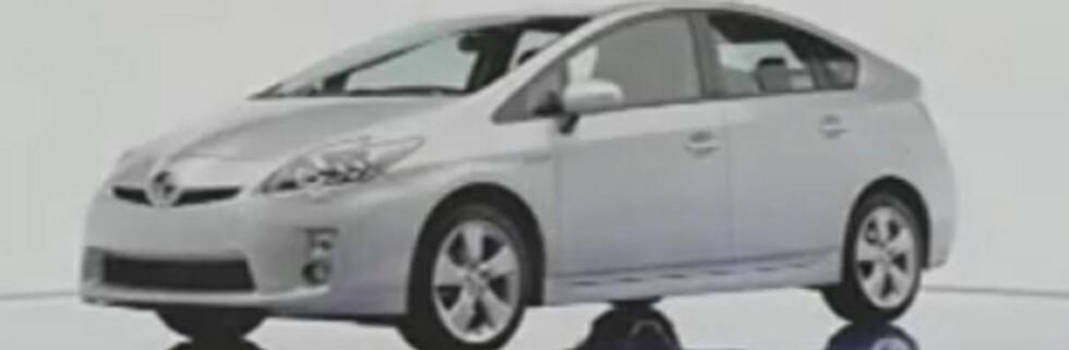 Toyota Prius avslørt på film