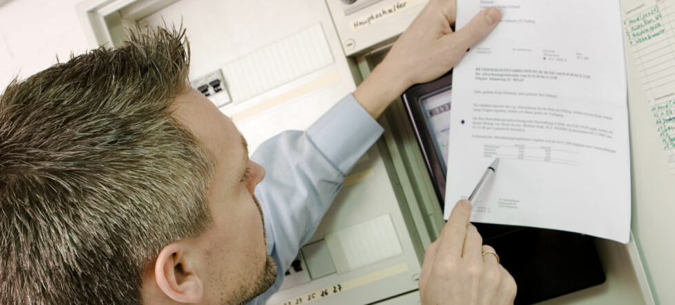 Før du bytter, må du finne frem nummeret på strømmåleren din, samt lese av målerstand.  Foto: Colourbox.com