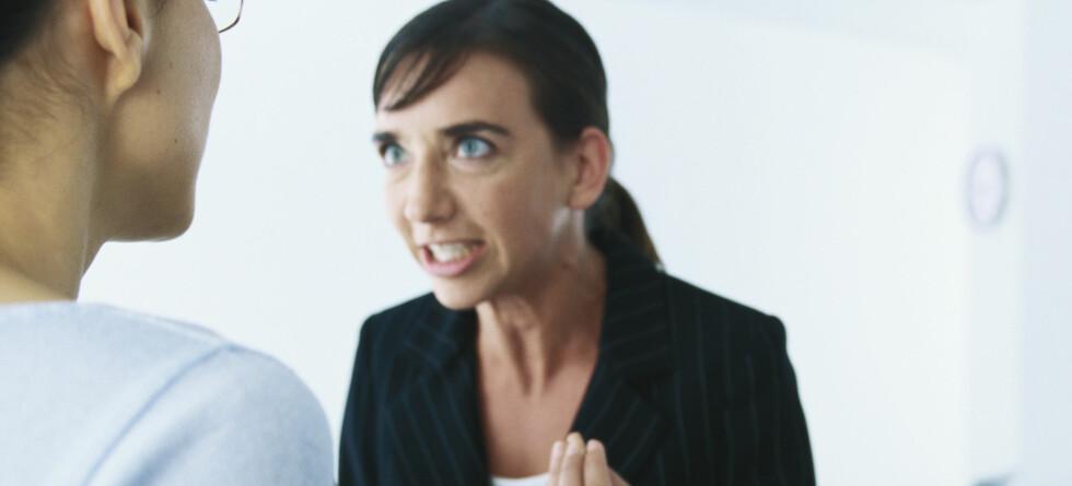 Mange skyr konfrontasjoner, men det er det lite å vinne på i det lange løp, mener psykolog.   Foto: colourbox.com