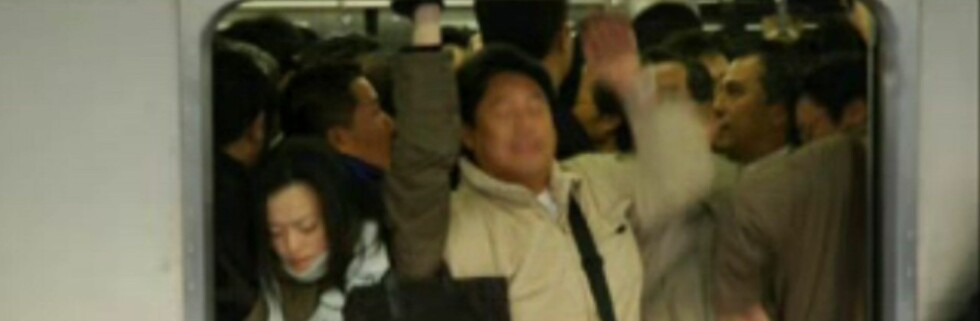 Du vet ikke hva trengsel er før du har sett videoen fra Tokyo. Foto: Fra YouTube