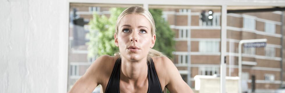 Trener du så svetten svetten siler flere ganger i uka - men uten resultat? Foto: colourbox.com