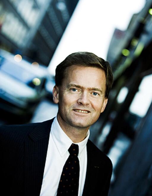 Jon H. Stordrange i Skattebetalerforeningen foreslår kutt i merverdiavgiften.