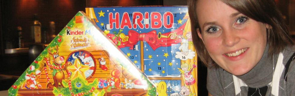 - Disse inneholder så mye mer godteri, sier ernæringskonsulent Hanne Hennig Rustad  Foto: Kristin Sørdal