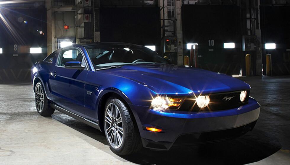 Nye Mustang: Bildene