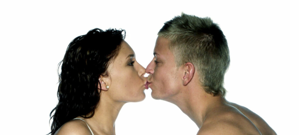 A kiss is just a kiss...eller er det egentlig det? Foto: colourbox.com