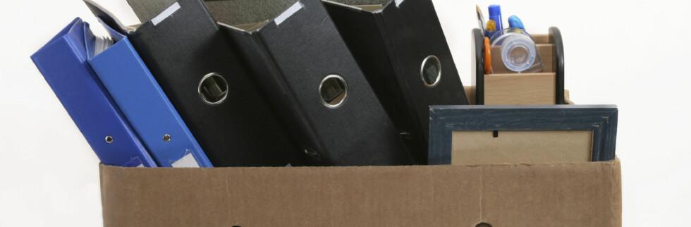 Oppsigelsene er ikke lenger bare dystre fremtidsspådommer. Nå ryker arbeidsplassene. Foto: iStockphoto.com
