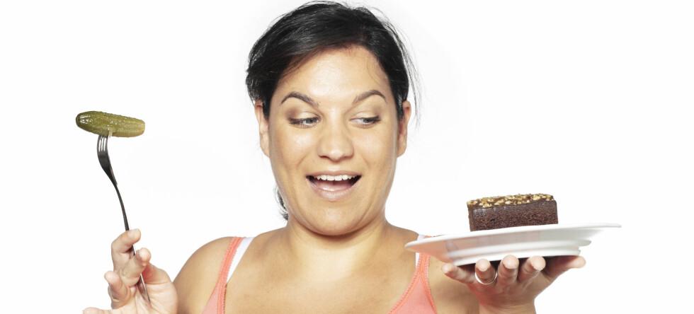 Matvalgene dine kan være avgjørende for barnets framtidige vekt og kosthold.  Foto: Colourbox
