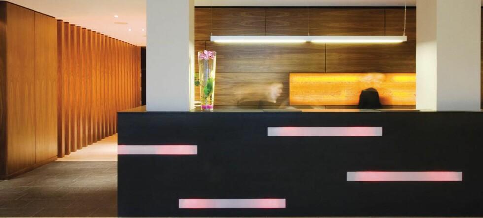 Apex Hotel er stilrent og fint.  Foto: David Springford
