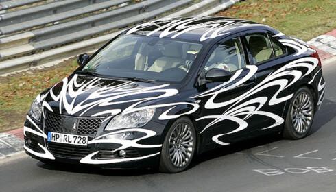 Store spionbilder av Suzukis kommende mellomklassebil