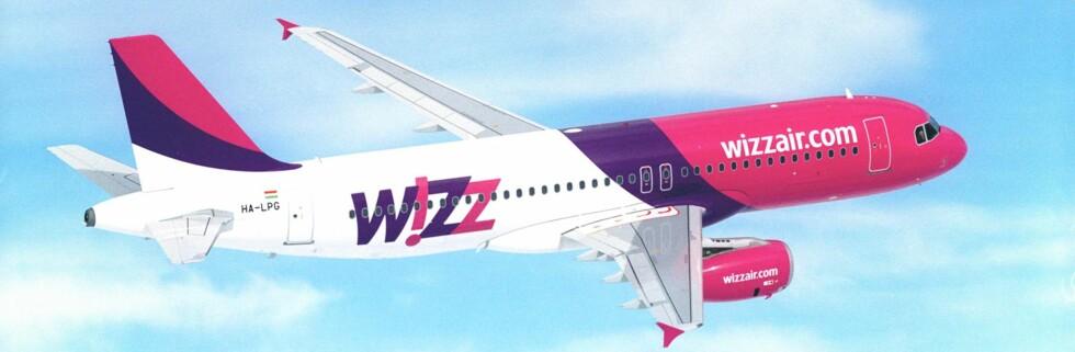 Den nye ruten til Ukraina blir Wizz Airs sjette fra Norge. Foto: Wizz Air