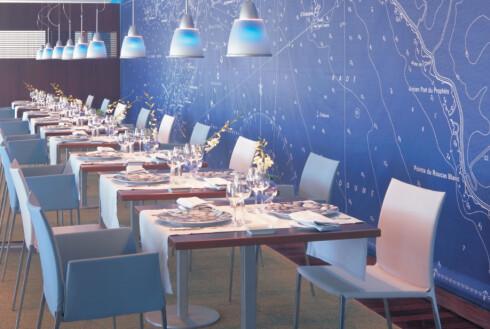 Bilde fra restauranten. Foto: Christian Michel/Accor Hotels
