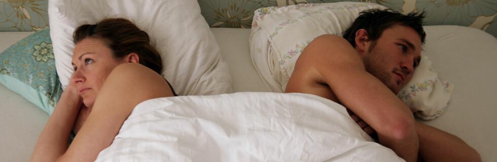 For tidlig sædavgang, som rammer mellom 30 til 40 prosent av alle menn, kan i verste fall gå ut over forholdet. Nå mener bristiske forskere at de har kommet frem til det som vil bli en revolusjonerende behandlingmetode.  Foto: Colourbox