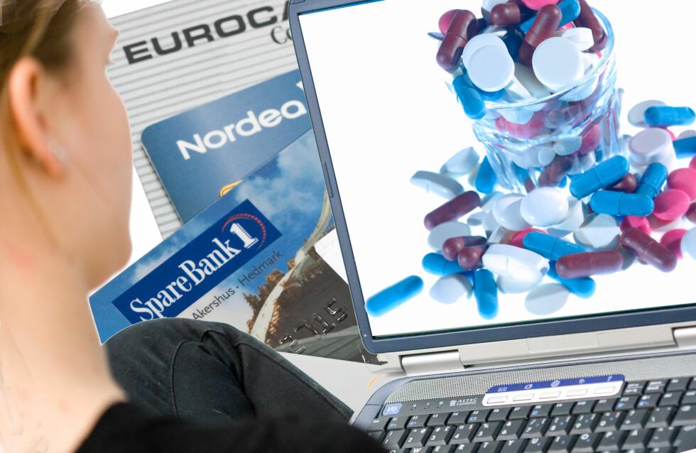 Styr unna internettannonserte medisiner uten vitenskapelige tester, advarer uavhengig medisinsk organisasjon. Foto: Colourbox/Montasje