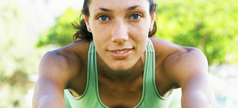 Yoga er ut, mens styrketrening, balansetrening og personlige trenere er in. Foto: Colourbox