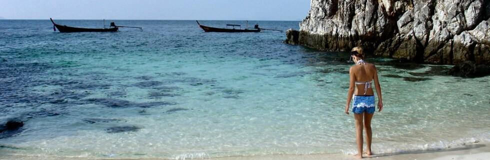Thailand har drøssevis av vakre strender.  Foto: Bianca Venter