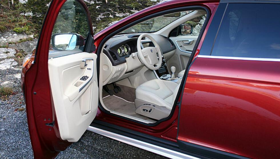 Store interiørbilder: Volvo XC60
