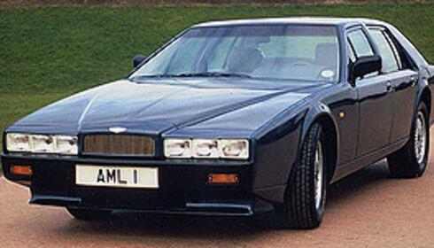 Aston Martin Lagonda ble laget mellom 1976 og 1989