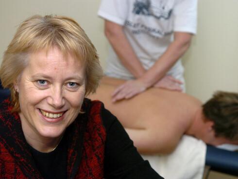 Forbundsleder i Norsk Fysioterapeutforening, Eilin Ekeland er positiv til slyngebehandling.  Foto: Norsk Fysioterapeutforening