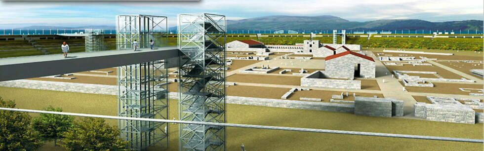 Slik ønsker prosjektet at byen skal fremstå. Foto: Seuthopolis National Initiativ