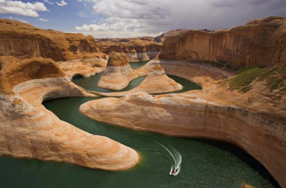 Glen Canyon i Arizona, USA.  Foto: Millennium House