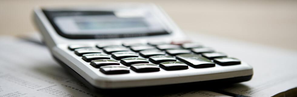 Det er fort gjort å regne ut om du betaler for mye i skatt. Foto: Colourbox.com