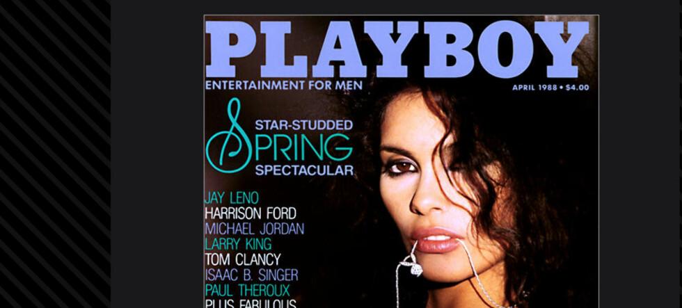 Nå kan vi forvente oss et kvinneideal som er høyere, slankere og eldre, med et hardere og mer markant uttrykk ... Bildet viser Playboy-utgave fra nedgangstider.  Foto: Playboy