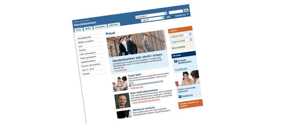 Faksimile: www.handelsbanken.no