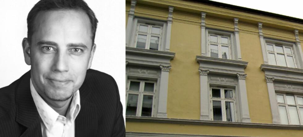 Leder i Norges Eiendomsmeglerforbund, Christian Dreyer, sier prisfallet på boliger kan bli dramatisk, dersom bankene ikke løsner på pengesekken. Foto: NEF / Per Ervland